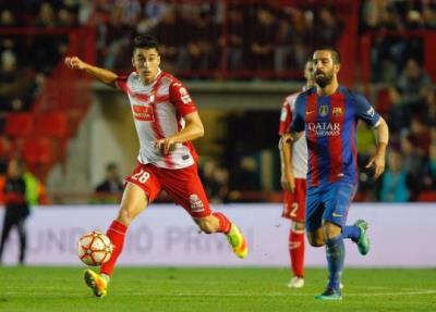 El granadenc Marc Roca es proclama campió de la Supercopa de Catalunya amb l'Espanyol. RCD Espanyol