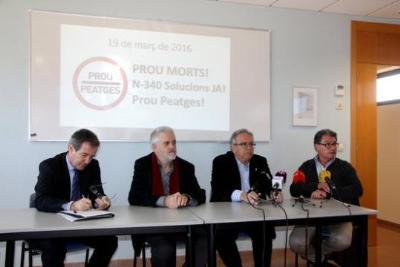 Els alcaldes del Camp i l'Ebre convoquen concentracions simultànies el 19 de març per reclamar la gratuïtat de l'AP-7. ACN