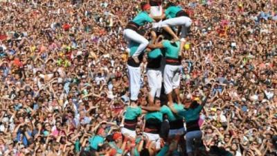 Els Castellers de Vilafranca volen estrenar el 3de9fa a Mataró. Castellers de Vilafranca