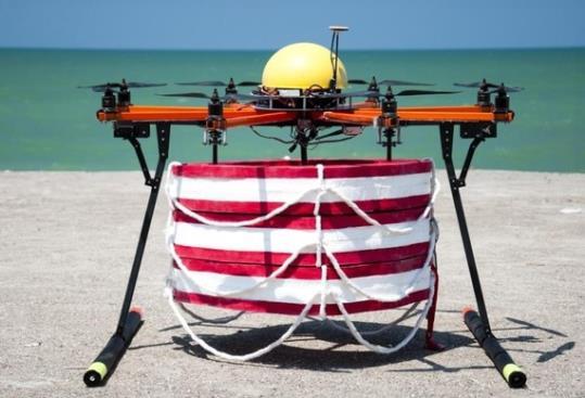 Els drons socorristes. EIX