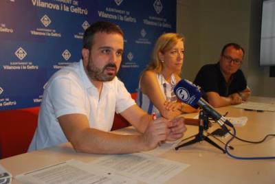 Gerard Llobet, Neus Lloveras i Juan Luis Ruiz. Míriam de Lamo