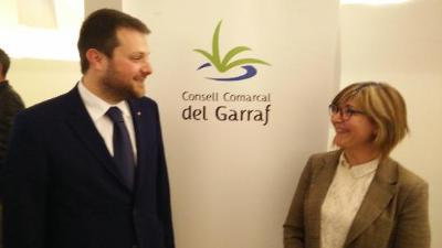 Glòria Garcia és escollida presidenta del Consell Comarcal del Garraf després de la renúncia de Gerard Figueras. Clara Virgili