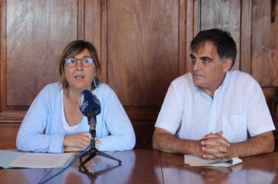 Glòria Garcia i Lluís Giralt. CC Garraf