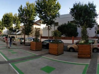 Habiliten noves places d'aparcament a la façana marítima de Vilanova. Ajuntament de Vilanova