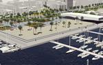 Imatge virtual de la nova Plaça del Port de Vilanova