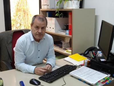 Josep Maria Ribas, primer tinent d´alcalde per ERC de l´Ajuntament de Sant Sadurní d´Anoia. Ramon Filella