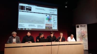 Josep Subirana, Pablo Sancho, Xavi Fornós, Manel Balaguer, Jordi Ribas i Raimon Gusi. Roger Vives
