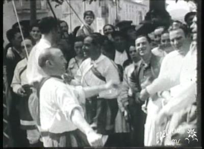 La Festa Major en 9,5 mm. Imatges de la festa major de Vilafranca de 1934 i 1935. La Festa Major en 9,5 mm