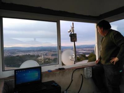 L'ADF de Subirats estrenen un sistema pioner de vigilància forestal. ADF Subirats