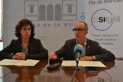 L'Ajuntament presenta un programa d'ajuts socials, innovadors a Catalunya, que beneficiaran a més de 600 persones. Ajuntament de Sitges