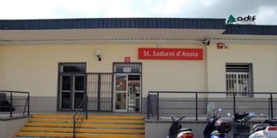 Les obres de millora de l'estació de Sant Sadurní s'endarrereixen un altre cop. Ajt Sant Sadurní d'Anoia