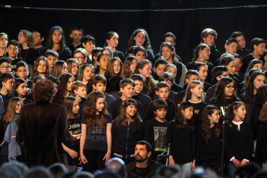Més de 200 alumnes de sisè de primària participen a una nova edició de la Cantata Escolar
