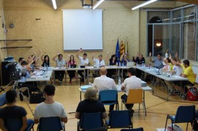 Ple municipal a Sant Pere de Ribes. Ajt Sant Pere de Ribes