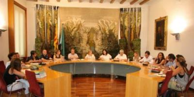 Ple municipal de Sant Sadurní d'Anoia. Ramon Filella