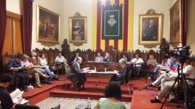 Ple municipal de Vilafranca. EIX