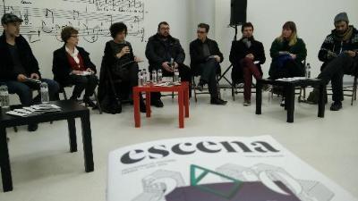 Presentació de la programació estable d'arts escèniques a Vilanova i la Geltrú. Clara Virgili