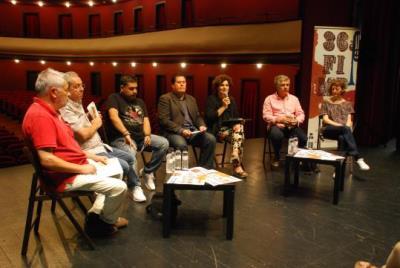 Presentació del FIMPT 2016 al Teatre Principal. Míriam de Lamo