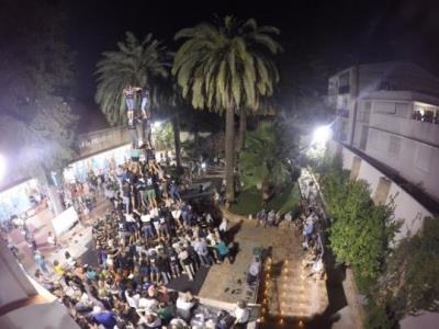 Setmana clau pels Castellers de Vilafranca abans de Festa Major. Castellers de Vilafranca