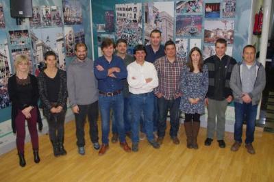 Toni Bach i Joan Badell, escollits per dirigir els Castellers de Vilafranca. Castellers de Vilafranca