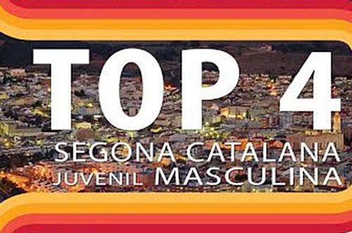 Top4 Segona Catalana Juvenil Masculí. Eix