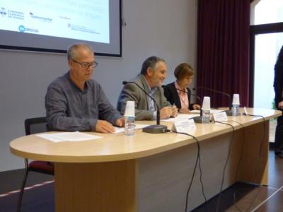V plenari de la Xarxa Perifèrics, que s'ha celebrat a Vilafranca del Penedès. Ajuntament de Vilafranca