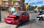 Accident de circulació a la ronda Ibèrica cantonada amb el carrer del Doctor Zamenhof