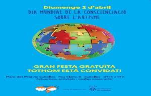 Festa pel Dia Mundial de Conscienciació de l'Autisme