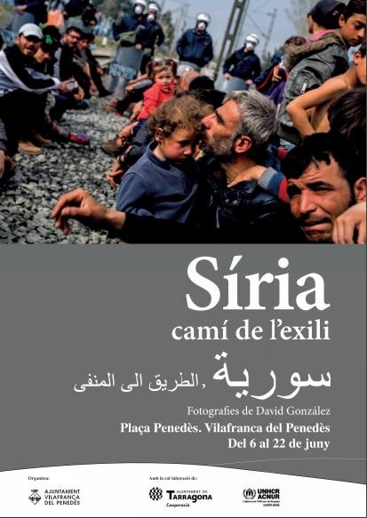 """Exposició fotogràfica """"Síria, camí de l'exili"""""""