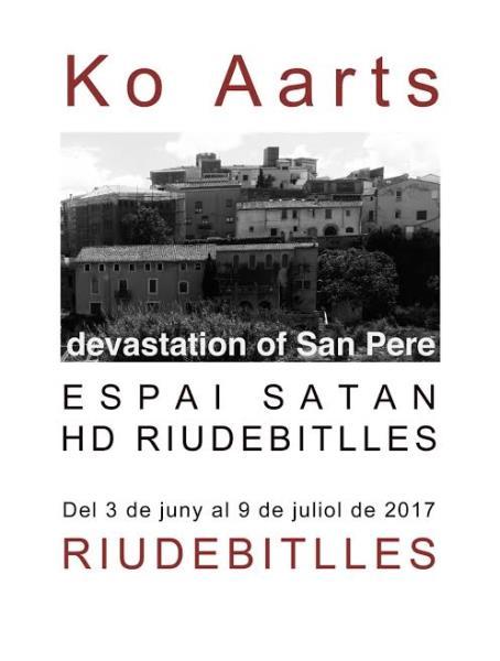 "Exposició ""Devastation of Sant Pere"""