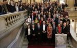 Diputats, alcaldes, regidors i membres del Govern, després de la creació de la vegueria al Parlament