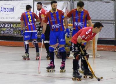 El Moritz Vendrell guanya 6 a 1 l'Alcoi