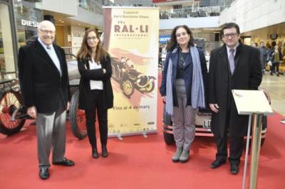El Rally Barcelona-Sitges comença amb la tradicional exposició a L'illa Diagonal. EIX