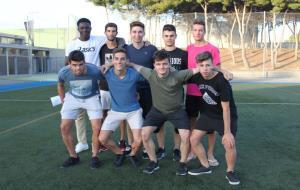 Els jugadors juvenils que faran la pretemporada amb el CF Cubelles
