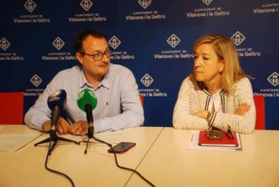 Juan Luis Ruiz i Neus Lloveras. Míriam de Lamo