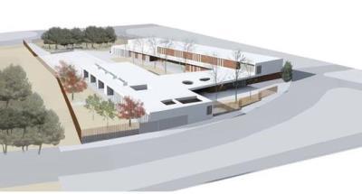 La Generalitat presenta el projecte de construcció de l'escola Agnès de Sitges. EIX