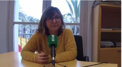 La regidora d'Hisenda de Vilanova, Glòria Garcia. EIX