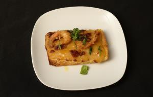 Menú de la tercera edició de la Nit de la gastronomia de Vilanova i la Geltrú