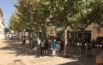 Minuts de silenci de rebuig a l'atemptat terrorista de Barcelona. Banyeres del Penedès