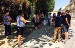 Minuts de silenci de rebuig a l'atemptat terrorista de Barcelona. Sant Martí Sarroca