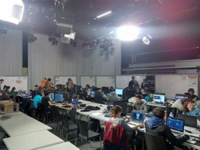 Neàpolis, seu del concurs internacional de creació videojocs per equips en 48 hores. Ajuntament de Vilanova
