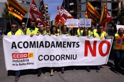 Els empleats de Codorniu desconvoquen la vaga de dijous després d'un preacord per rebaixar a 72 els afectats per l'ERO