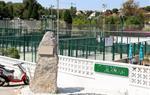 Pla general des d'una tanca de la piscina del Club Tennis Vilanova, on un nen de 10 anys ha mort ofegat durant el casal d'estiu el 22 de juny de 2017