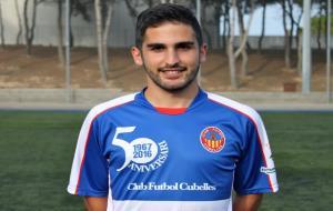 Presentació de Pardo com a nou jugador del CF Cubelles