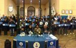 Roda de premsa dels encausats pel cas Montoro