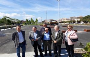 Vilafranca estrena el primer aparcament de la llosa de la via, de 86 places