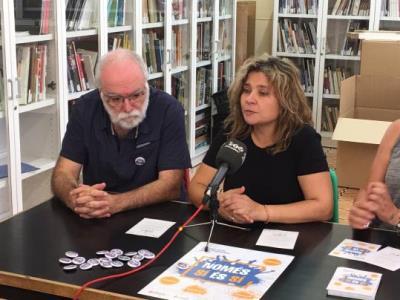 Vilafranca iniciarà per Festa Major una campanya contra les agressions sexistes amb el lema 'Només sí és sí'. Ajuntament de Vilafranca