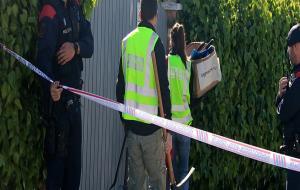 Els Mossos registren la casa de l'arrestada pel Crim del Foix per esbrinar si hauria utilitzat una serra elèctrica