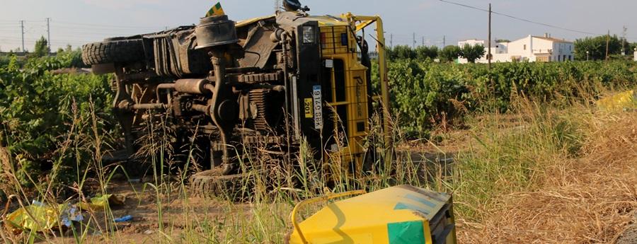 Mor un voluntari d'ADF en un accident a l'N-340 a l'Arboç quan anava a apagar un incendi a Castellet i la Gornal