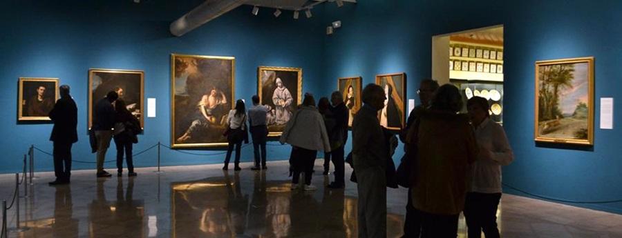 Inauguració de la mostra 'La presència del Prado. Episodis d'una història' al museu Víctor Balaguer