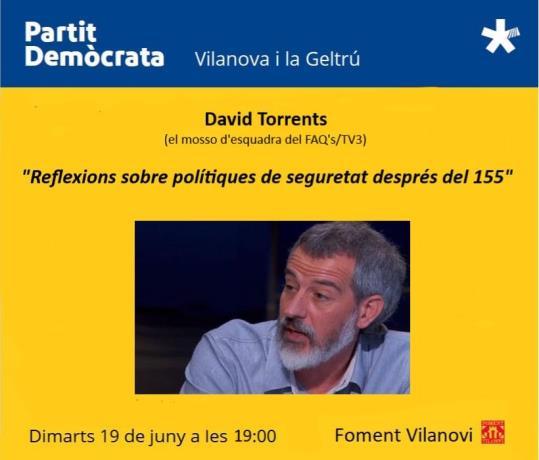 David Torrents, Cicle de xerrades